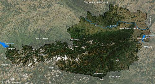 AUSTRIA - GEOGRAFIA