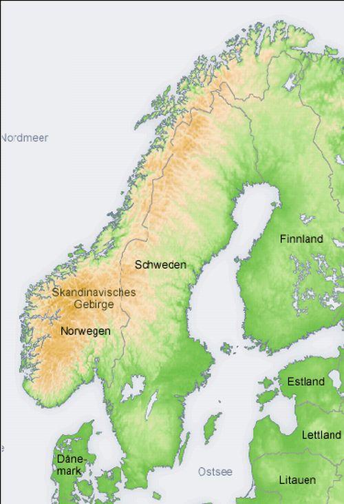 Geografia Szwecji