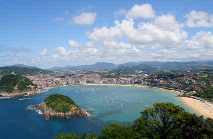 San Sebastian - stolica kraju Basków